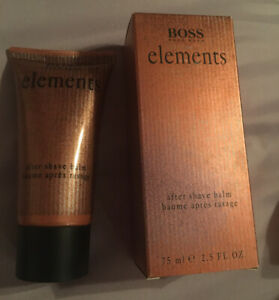 Boss Elements After Shave Balm 2.5 Oz. New With Box.