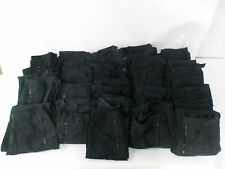 17 x Pairs Used Black Combat Cargo Trousers Mix Women's Various Sizes Security