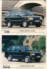 Range Rover 4.6 HSE 1995 x 2 original colour Press Photographs