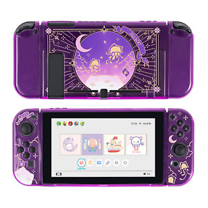 GeekShare Moonlight Jellyfish Switch Protective Case Slim Soft Switch Shell