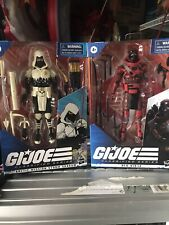 ?Hasbro G.I. Joe Classified Series Arctic Mission Storm Shadow and Red Ninja 6?