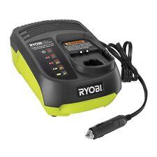 Ryobi One+ 14.4 - 18V Dual Chemistry Car Battery Charger/12v DC/ Charging LED