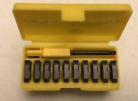 Kennametal 16NR TiAlN Coated CarbideThreading Inserts LT-16NR 8UN KC5025 1727704