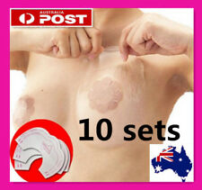 10 Sets 20 pcs Instant Breast Boob Push Up Support Invisible Bra Adhesive Tapes