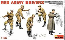 1/35 MiniArt 35144 -. WWII Soviet Red Army Drivers  Plastic Model Kit 5 Figures