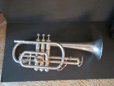 Cornet: H.N.White Silver King Commander, 1925-1930 with case