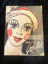Borovansky Jubilee Ballet Company program 1951, Australia, dance, theatre, arts