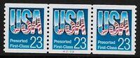 US Scott #2606, Plate #A2222 Coil 1992 USA 23c VF MNH