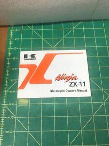 Kawasaki ZX1100 C2 Ninja ZX-11 Motorcycle Owners Manual 1990