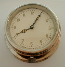 USSR RUSSIAN SOVIET SUBMARINE NAVY MARINE BRASS SHIP WALL CLOCK 3-52
