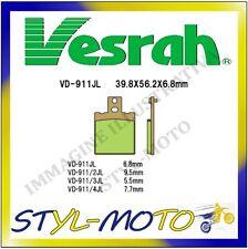 VD-911JL PASTIGLIE POSTERIOR SINTERIZZATE VESRAH MOTO-GUZZI V11 1100 LEMANS 2001
