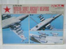 Modern Soviet Aircraft Weapons Set 3: Rockets & Bombs -Dragon- 1:72