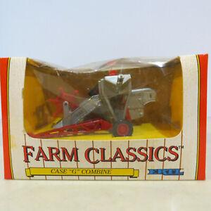 "Ertl Case 'G"" Pull Type Combine Farm Classic 1/43 CA-2622-B"