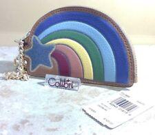 Coach X NASA Shooting Star Rainbow Coin Purse Space Collection F27532 New