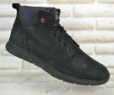 TIMBERLAND Killington Chukka Boot Mens Black Leather Shoes Size 10.5 UK 45 EU