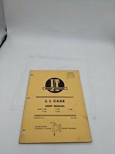 I & T Tractor Shop Service Repair Manual JI Case C-25 430 470 530 570 630