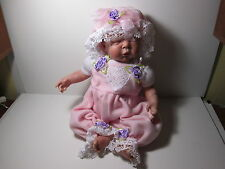"""Reborn Ariane Sculpt by Adrie Stuete 20"""" Sleeping Newborn with second outfit"""
