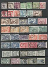 Yugoslavia 1919- 1921 collection , MH or fine used , 81 stamps