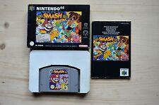 N64 - Super Smash Bros. - (OVP, mit Anleitung)