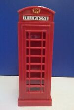 LONDON PHONE BOX DIE CAST METAL LONDON SOUVENIR CHRISTMAS GIFT