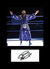BOBBY ROODE #1 (WWE) Signed (Reprint) Photo A5 Mounted Print - FREE DELIVERY