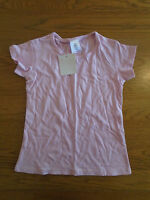 BNWT girls plain pink short sleeve t-shirt. Age 7-8 years