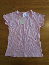 BNWT girls plain pink short sleeve t-shirt. Age 7-8 years