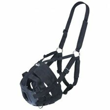 Tough 1 Black Yearling Size EZ-Breathe Grazing Muzzle horse tack equine 52-936Y