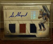 2016 Panini Absolute Sterling Shepard Giants  Rookie Materials #/499 Auto RC