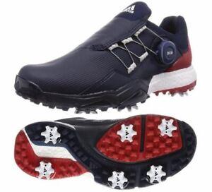 Adidas PowerWrap Boa 6-Spikes Medium Golf Shoe Men's 2020 Navy EG5304