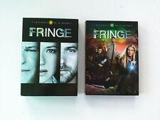 Serie TV Fringe (JJ Abrams) saison 1 & 2 VF-VOST DVD Zone 2 PAL FR