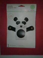 Martha Stewart Create Panda Puppet Kit 2008 New Smoke Free Home