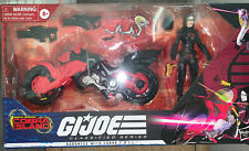 GI JOE Classified Series: BARONESS w/ COBRA COIL BIKE, TARGET EXCLUSIVE - NIB
