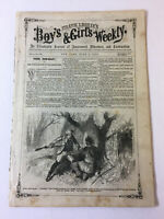 June 4, 1870 FRANK LESLIE'S BOYS & GIRLS WEEKLY ~ White Queen Of The Mohicans