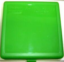 """Mtm Case Gardâ""""¢ New Plastic Ammo Box 100 Rd Rm-100-10 Rifle 308 6Mm 243 Sld Green"""