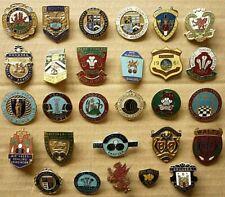 More details for twenty eight (28) vintage enamel badges bowling clubs wales welsh clubs