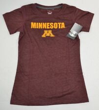 NCAA Minnesota Golden Gophers Girls Champion Soft T-Shirt Maroon Heather L 10/12