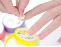 64pcs Cleaner Flavor Wet Wipes Paper Manicure Nail Art Polish Vanish Remover