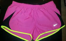 """NIKE DRI-FIT 3.5"""" RUNNING SHORTS - WOMEN'S STYLE 573728 COLOR 667 PINK - SIZE M"""