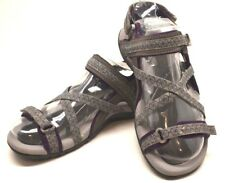 Hi-Tec Sandals 108/00215 Premilla Strap Gray US SZ 9 FREE SHIPPING BRAND NEW