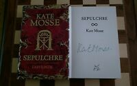 Sepulchre SIGNED Kate Mosse Hardback Book 2007 1st edition 5th Printing