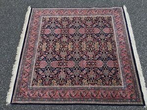 Beautiful Rich SQUARE Hand Knotted NewZealand Wool pile Area Rug 6X6