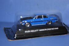 ISUZU BELLETT 1600GTR (PR91W) 1969 Blue KONAMI JAPAN 1/64