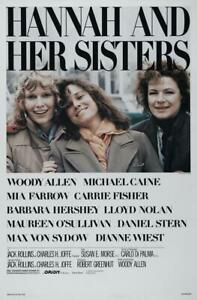Hannah and Her Sisters Woody Allen Barbara Hershey DVD R4