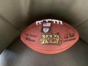SUPER BOWL XLI 41 Authentic Wilson NFL Game Football - INDY COLTS VS BEARS