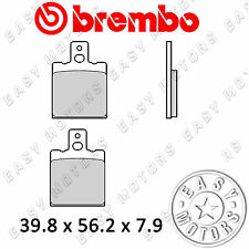 07BB31.35 PAR PASTILLA DE FRENO BREMBO GENUINE DELANTERO HUSQVARNA CX 125 84>85