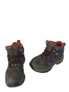 LL Bean 286156 Boys Size 1 Youth Tek 2.5 Waterproof Hiking Trail Boots