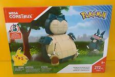 Pokémon Snorlax and Munchlax Mega Construx Set Pokemon (272 pcs) Pokemon
