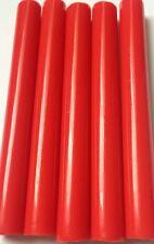 10 piezas Pistola de Pegamento Caliente palos en Rojo - 12mm X 100mm