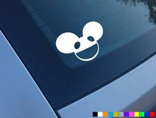 Deadmau5 Auto Adesivo in Vinile taglia Divertente Decalcomania Jdm Drift JAP Trance Tiesto novità